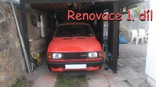 Škoda 105l ► renovace 1. díl