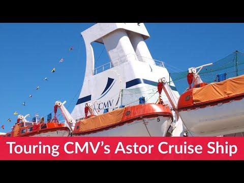 A tour of CMV Astor Cruise Ship.