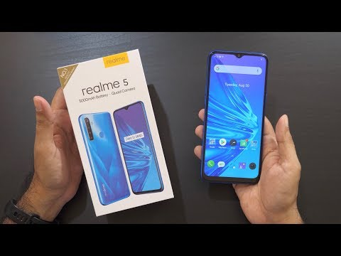 Realme 5 Unboxing & Overview Snapdragon 665, Quad Camera, 5000mah for Rs 9999