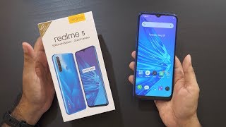 Realme 5 Unboxing Overview Snapdragon 665 Quad Camera 5000mah for Rs 9999