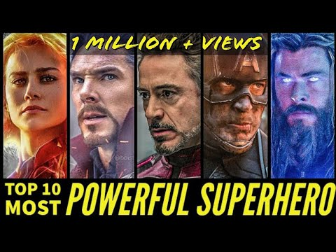 Top 10 Most Powerful Superheroes of MCU after Endgame ||SUPER INDIA||