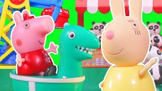 Peppa Pig  Official Channel |  Peppa Pig Stop Motion: Carnival at Peppa Pig's  Playgroup