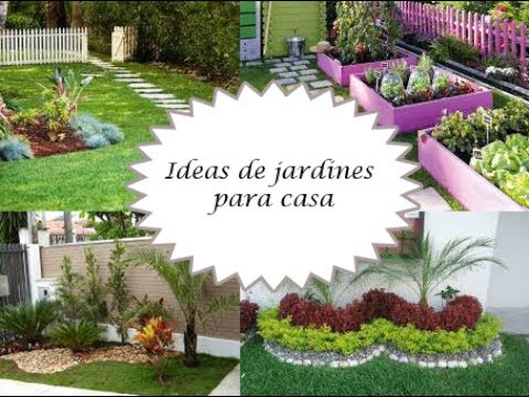 Ideas de jardines para casa youtube for Jardines de casas