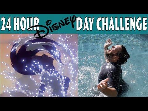 The 24 Hour Disney Day Challenge!!