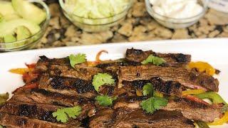 Delicious Fajitas Steak Tacos! | EstherDees Kitchen