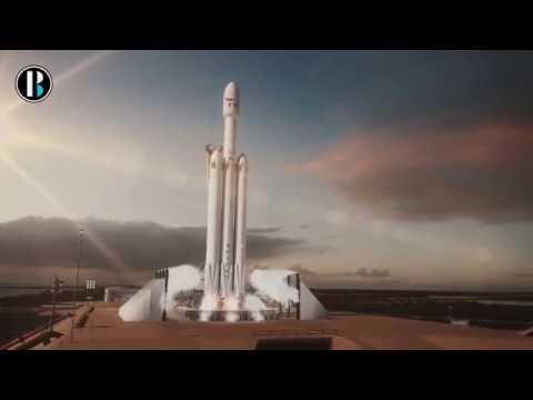 El Falcon Heavy hace su histórico despegue hacia Marte