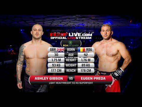 RXF : Preda Eugen vs Ashley Gibson