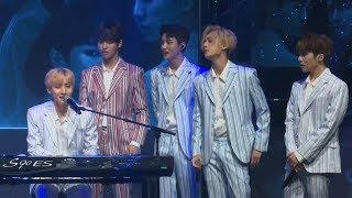 Pentagon (펜타곤) 'never' live stage (produce 101, 프로듀스 후이, 우석)
