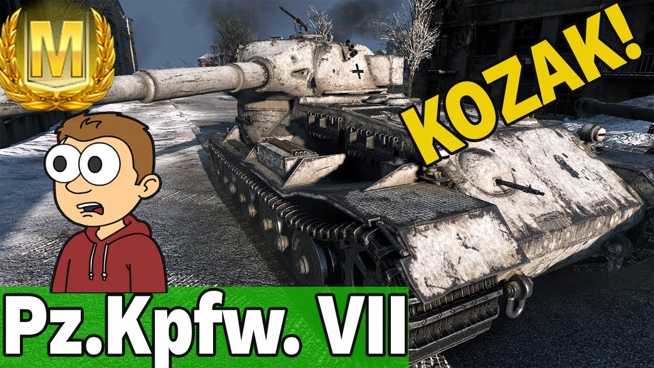 BOT ROBI KOZACKI WYNIK! – Pz.Kpfw. VII – World of Tanks