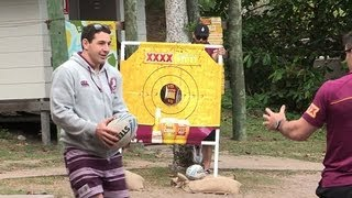 Repeat youtube video Maroons chill on XXXX Island