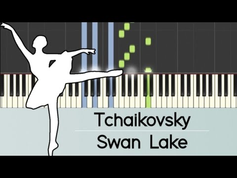 Swan Lake - Piano (EASY Tutorial)