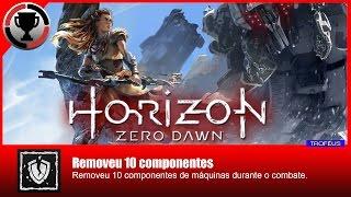 Horizon Zero Dawn - Removeu 10 componentes