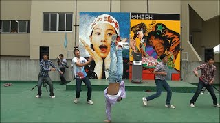 文化祭でハレ晴レユカイ、ラブライブ 踊ってみた thumbnail