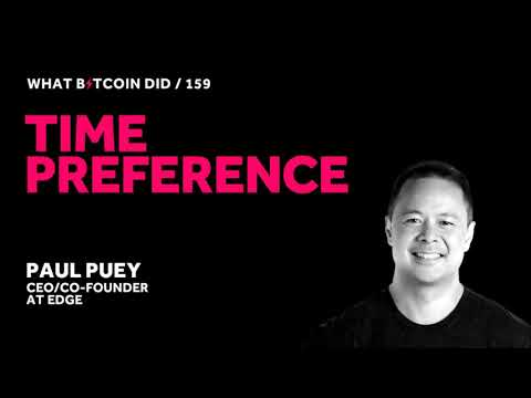 Paul Puey On Time Preference