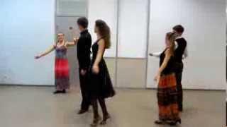 Полька серпантин. Схема танца