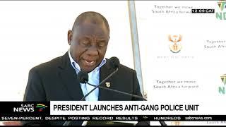 President Ramaphosa warned gangsters