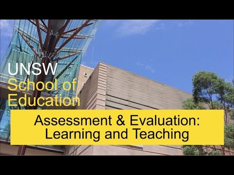 Assessment And Evaluation, Learning And Teaching, School Of Education