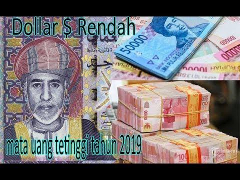 Nilai Kurs Dolar Turun Bagi Mata Uang Ini Tahun 2019 | Rupiah Di Urutan Keberap??