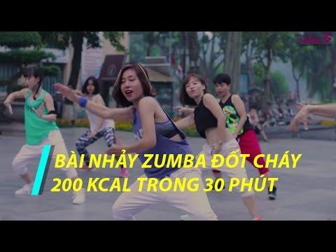 30 Mins Fat Burning  Zumba Dance Workout | Bài nhảy Zumba giảm cân đốt cháy 200 kcal trong 30 phút