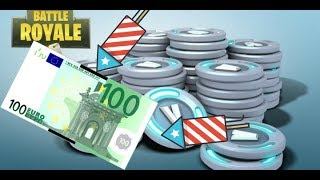 100Euro(14000V-Bucks)Verlosung-Giveaway!! Fortnite bataille royale!!!