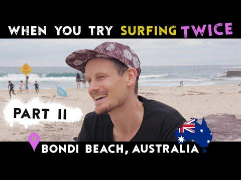 When You Try Surfing Twice | Bondi Beach, Australia