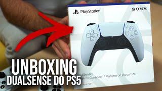 DUALSENSE PS5 - Unboxing do Controle do PlayStation 5