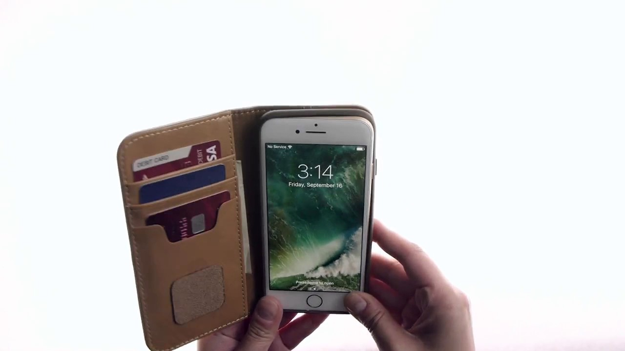 newest 5e075 74c70 Moshi Overture Wallet Case iPhone 7