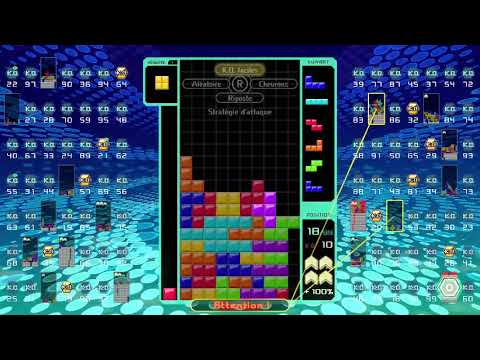 [Tetris 99] to the beat