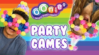 DIY Super Fun Party Games and Poppers with Oonies!   Official Oonies