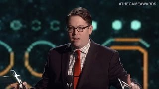 Must-Watch Speech Salutes Game Developers - The Game Awards 2015
