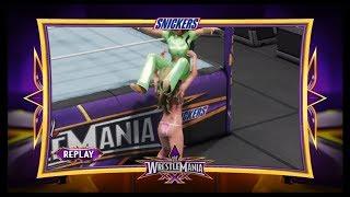 Selena Gomez vs. Kelly Kelly (WWE 2k19) - Bikini Fight (CPU vs. CPU)