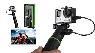 Re-Fuel Selfie Stick Powerbank for SmartPhones and GoPro 5/6