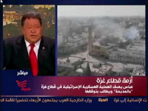 Israeli minister Benjamin (Fuad) Ben Eliezer about Gaza operations on Alhurra