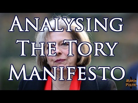 Analysing the Conservative Party Manifesto