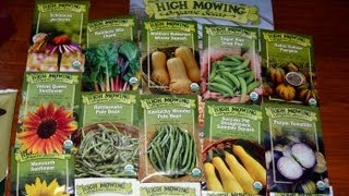High Mowing Organic Seed Order & Unboxing with Info