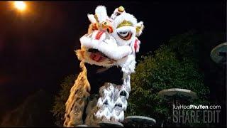 Lân Phú Yên múa đẹp, Lân trang trí cực đẹp, video rõ nét