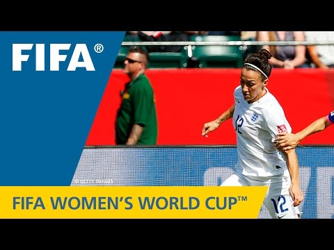 Women's World Cup TOP 10 GOALS: Lucy BRONZE (England v. Norway)