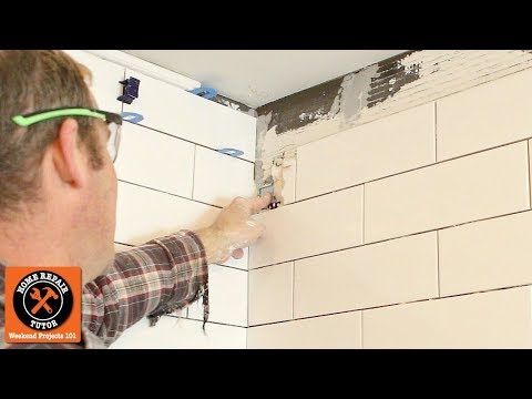 How to Replace a Broken Tile (Shower Wall Repair!)