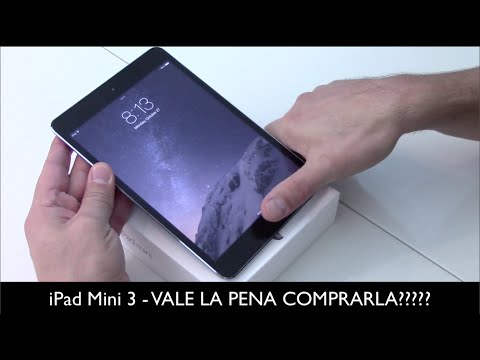 iPad Mini 3, vale la pena comprarlo???