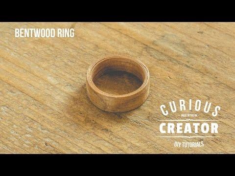 #2 Bentwood Wooden Ring - DIY Curious Creator