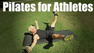 Pilates for Athletes | Core Conditioning Workout #pilatesforathletes