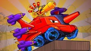 Машина ест машину Хищные машины Car Eats Car #16 мультик игра про тачки #МАШИНКИ КИДА
