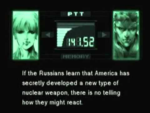 Nuclear Deterrence,Cold War & Geopolitical Conflict - Metal Gear Solid