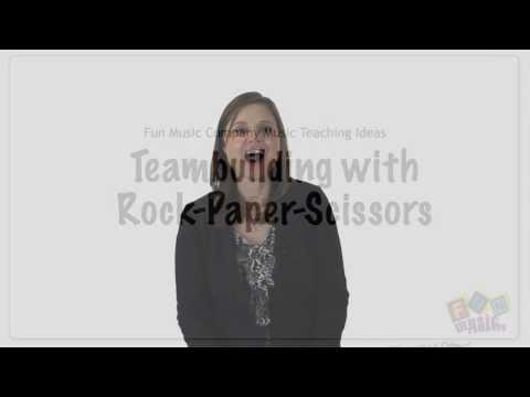 Classroom Team Building Game: Rock Paper Scissors Olympics