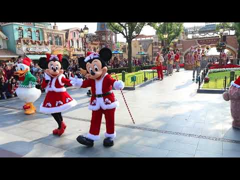 Happy Holidays Mickey - Shanghai Disneyland - Shanghai Disney Resort