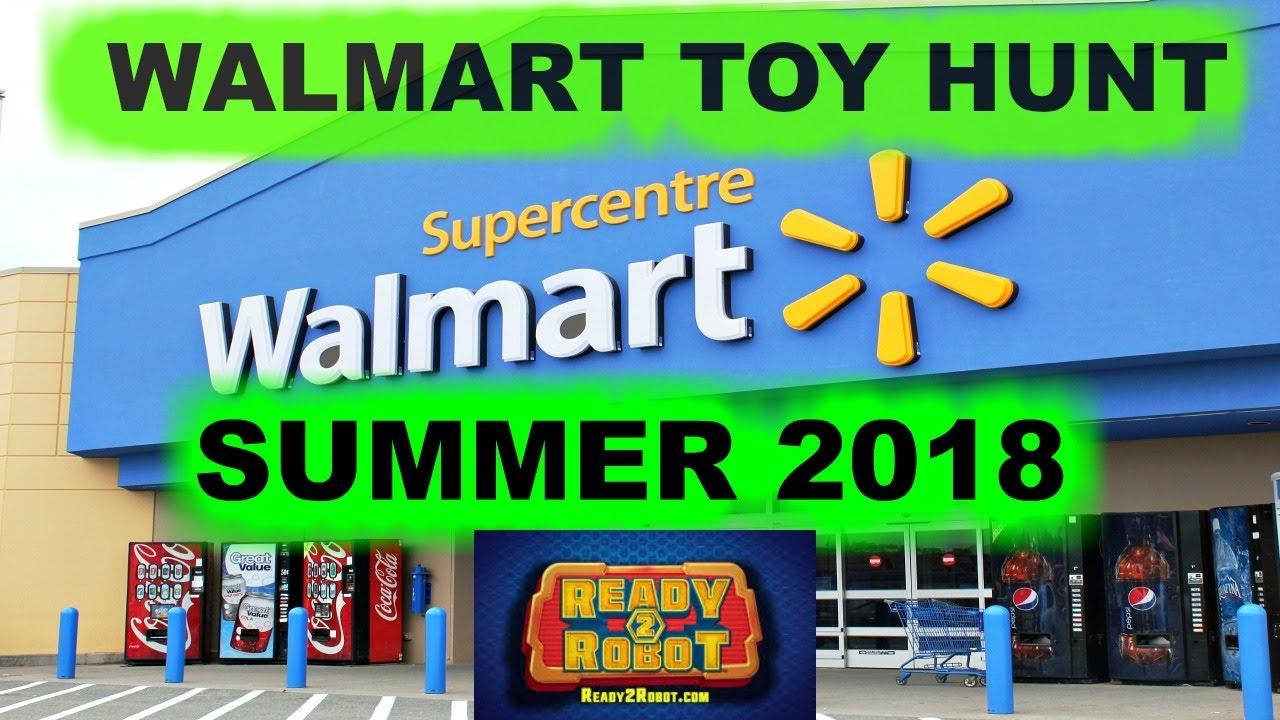 Walmart Toy Hunt Summer 2018 Boys Toys Including Ready 2 Robot Lego
