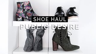 Winter Shoe Haul - Public Desire