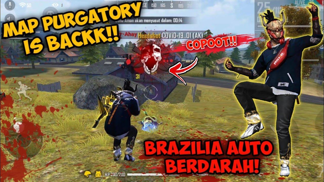 PURGATORY IS BACK!! AUTO SAPU BERSIH BRAZILIA | GARENA FREE FIRE