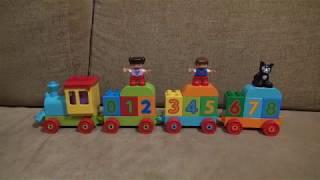 Распаковка конструктора Lego Duplo - Поезд