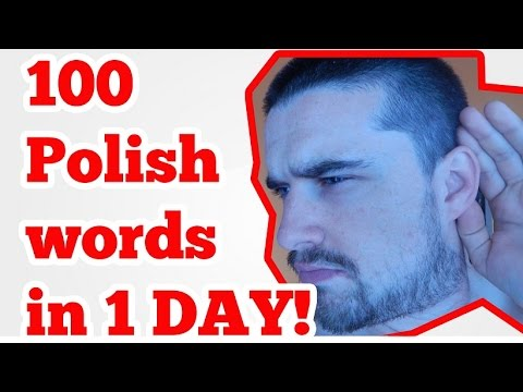 Over 100 Polish words in 1 day (method)
